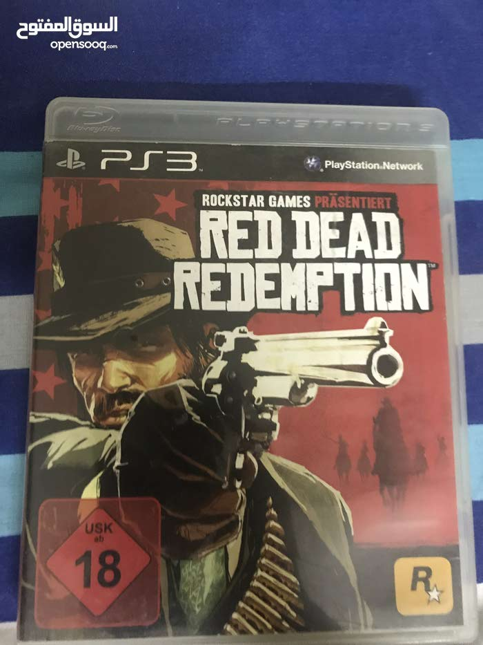 Red Dead Redemption PS3 with Map slightly used