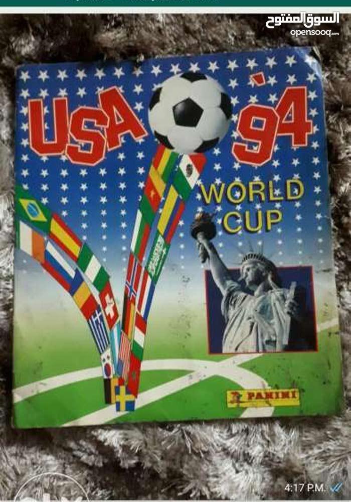 مجله كاس العالم  1994 الأصليه من شركه بانيني