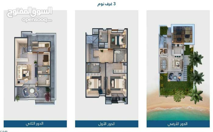 Villas in Sharjah and consists of: 3 Rooms and 3 Bathrooms is available for sale