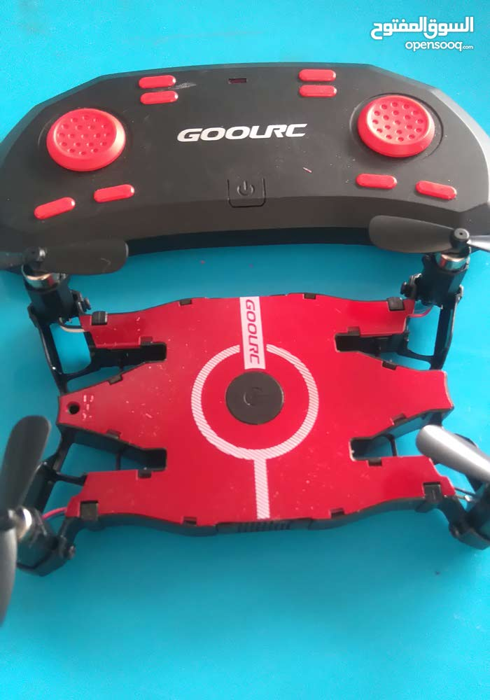 A used dron have a camra and can be operated by mobile phone