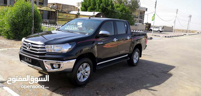 Black Toyota Hilux 2018 for sale - (108190922) | Opensooq