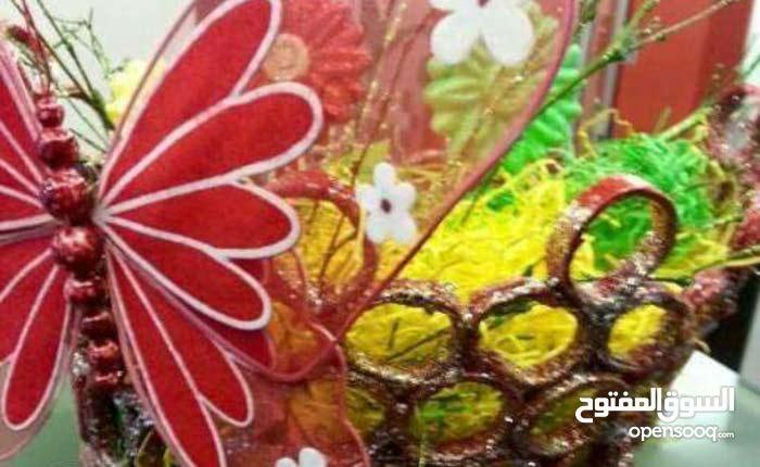 handmade recycling basket