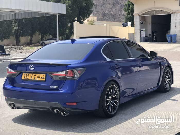 Blue Lexus GS 2016 for sale