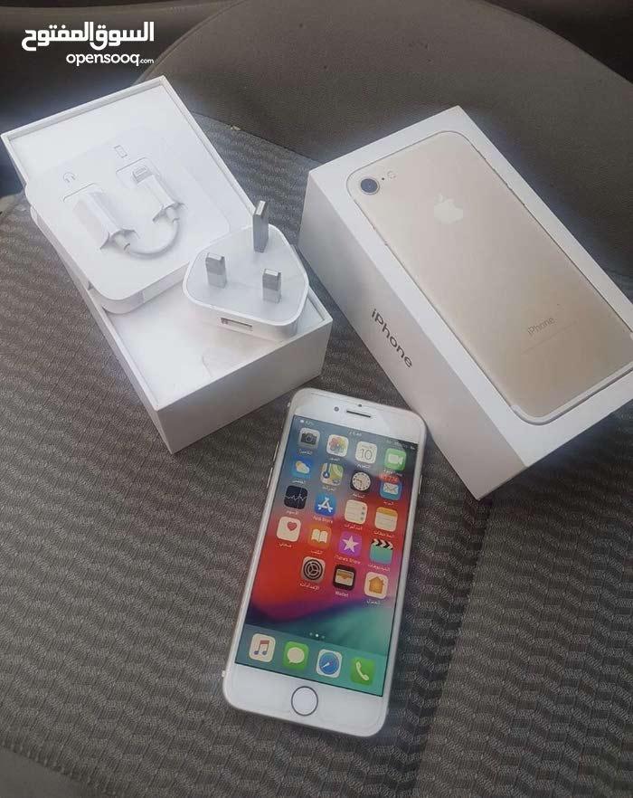 iPhon7 gold 128 gb litta10/10   batri 84