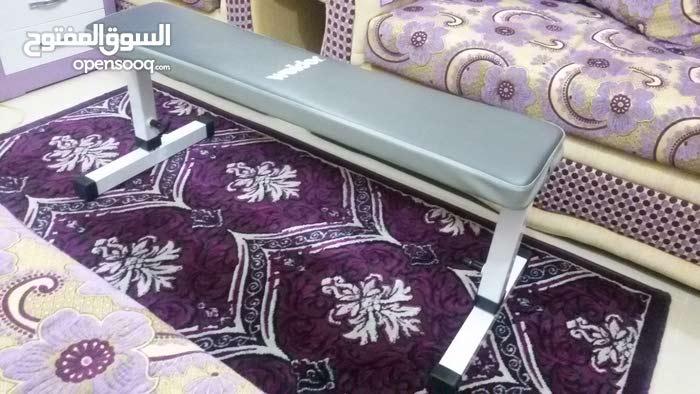 Bench Press Seat (Weider) + 30 KG Weight + 1 Long Bar + 1 Short Bar