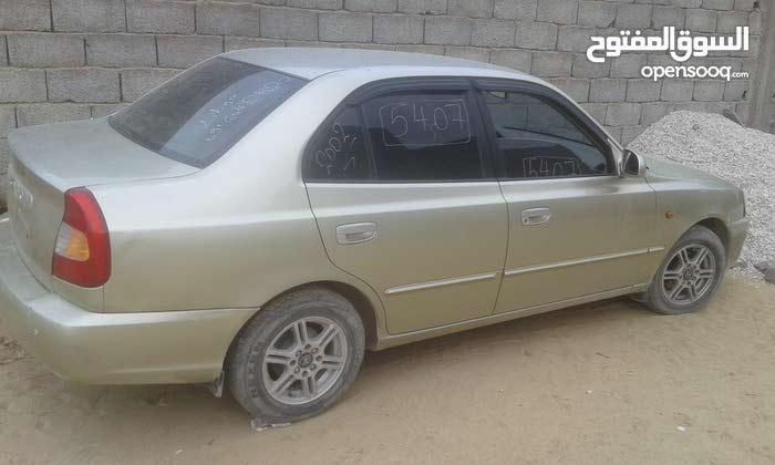 Hyundai Verna 2002 For sale - Beige color