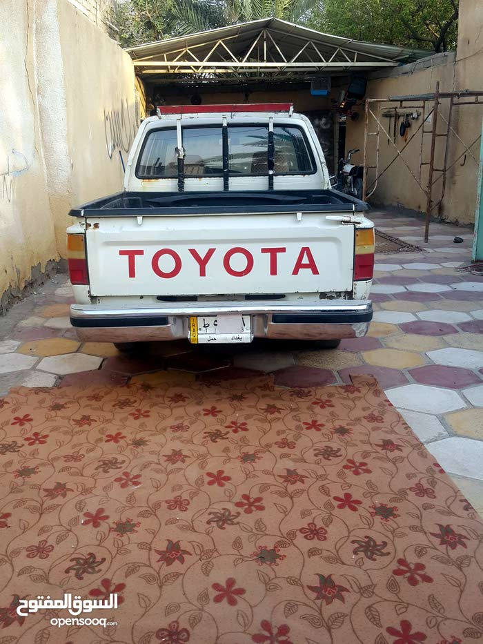 Toyota FJ Cruiser Used in Basra