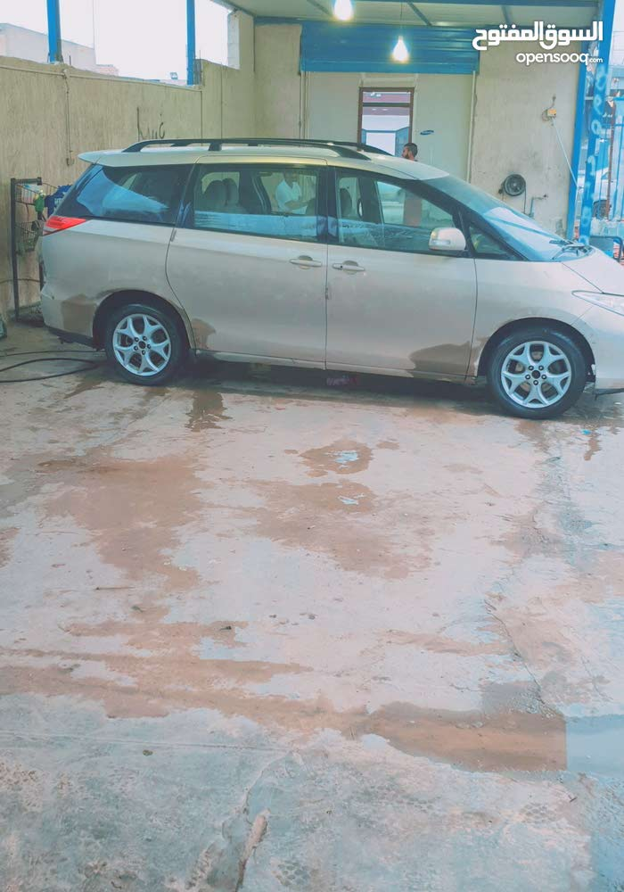 Gold Toyota Previa 2008 for sale