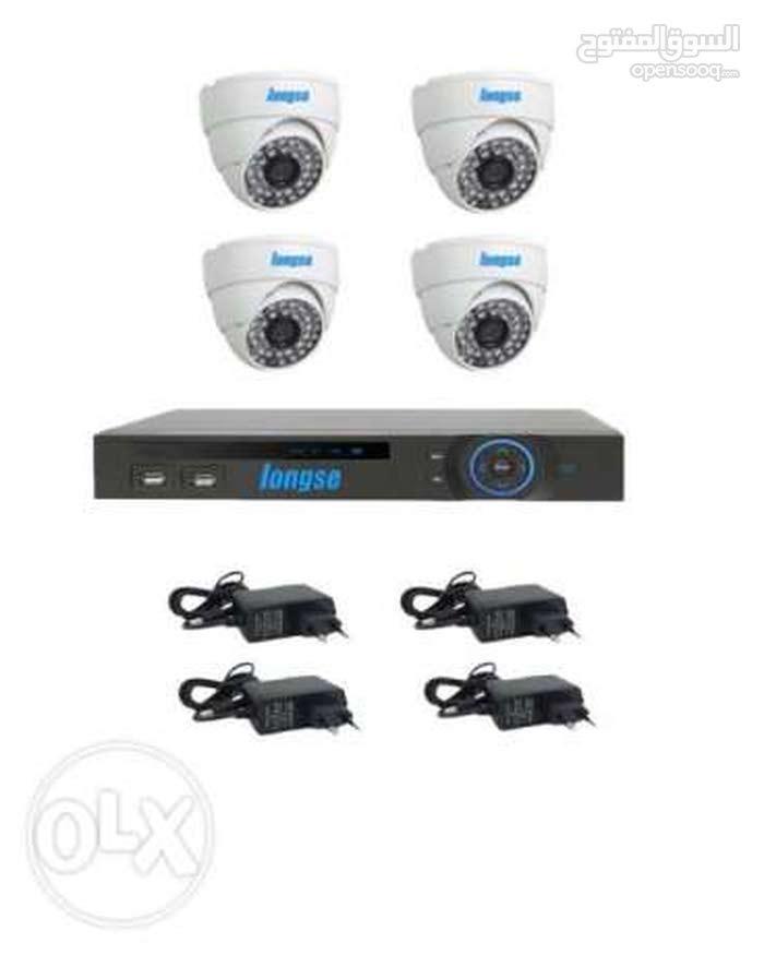 نظام كامل 4 كاميرات HD
