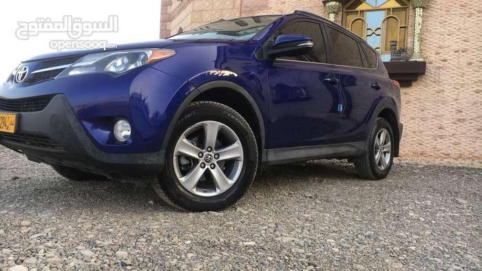 Toyota RAV 4 2015 For sale - Blue color