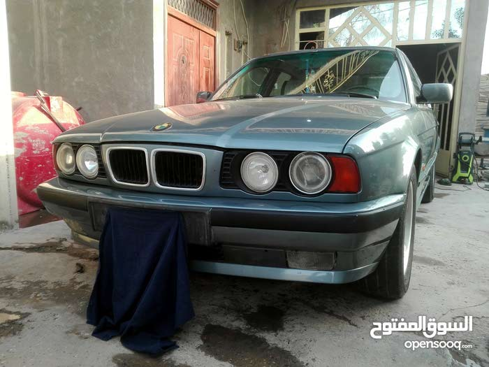 Automatic Turquoise BMW 1991 for sale