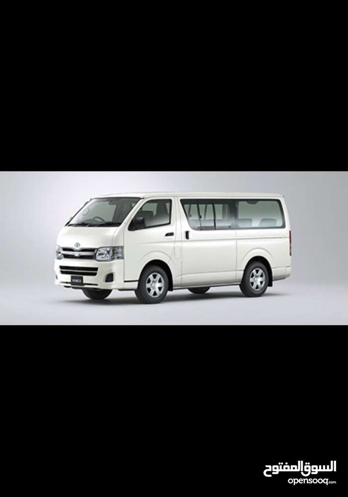 Best rental price for Toyota Hiace 2014