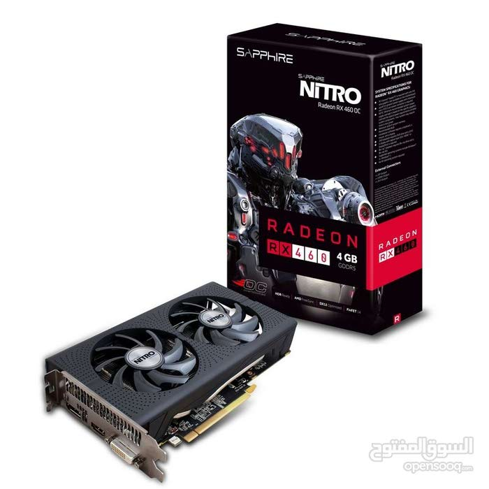 SAPPHIRE AMD RADEON RX 460 4GB GPU GRAPHICS CARD!