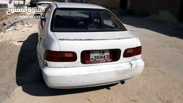 For sale 1992 White Civic