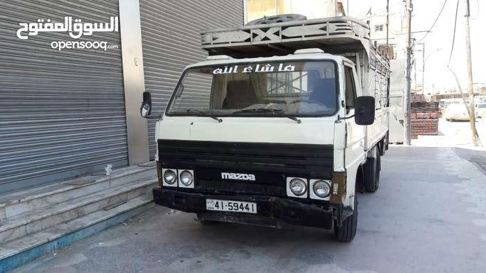 Manual White Mazda 1985 for sale