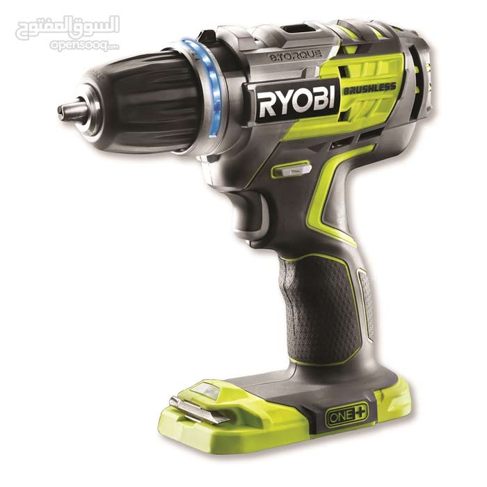 درل شحن ماركة Ryobi نظام brushless