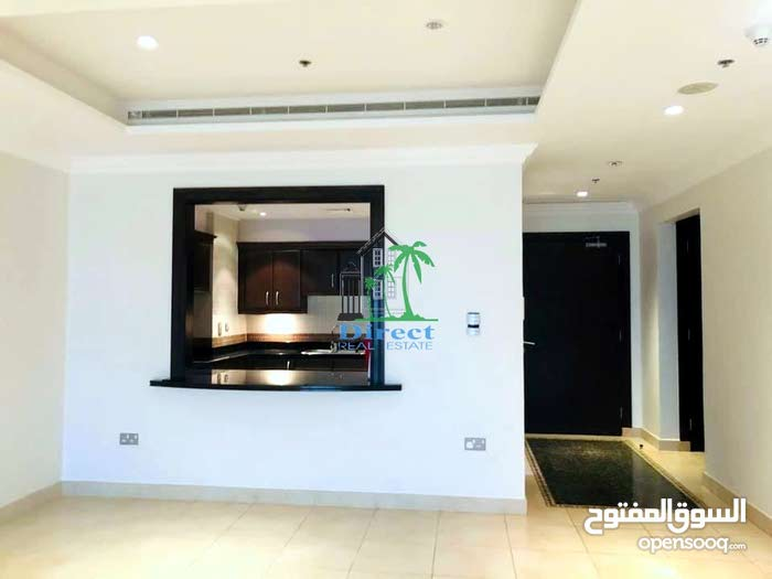 Marina view large 1 bed flat located tower 31 at The Pearl QR8,500