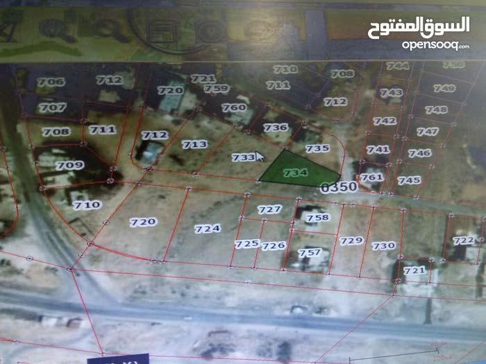 أرض للبيع  مساحتها 951 متر مربع في الزرقاء/أبوالزيغان /أرحيل الغربي رقم القطعة 7