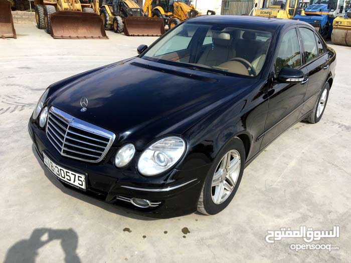 km Mercedes Benz E 200 2008 for sale