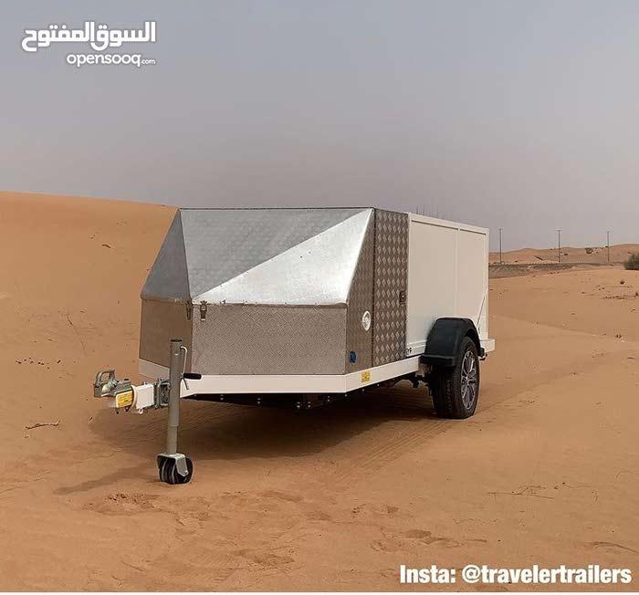 حمام الرحلات المتنقل Travel Toilet Trailer