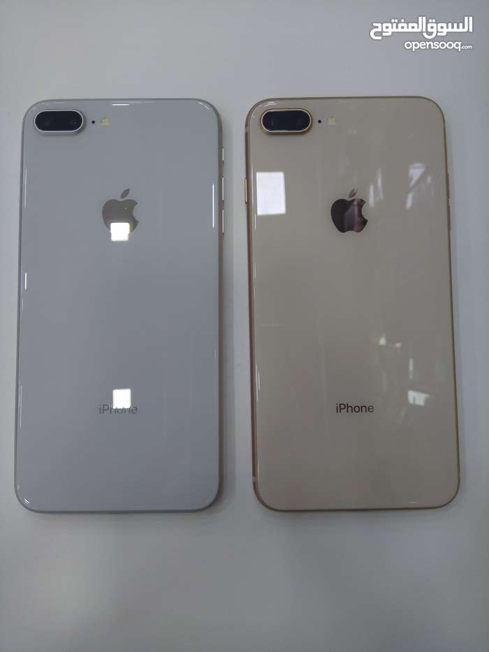 IPhone 8+ 64 Gigaمستعمل بحال الجديد