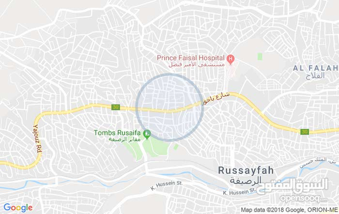 Jabal El Shamali  Rusaifeh apartment for rent with 5 rooms