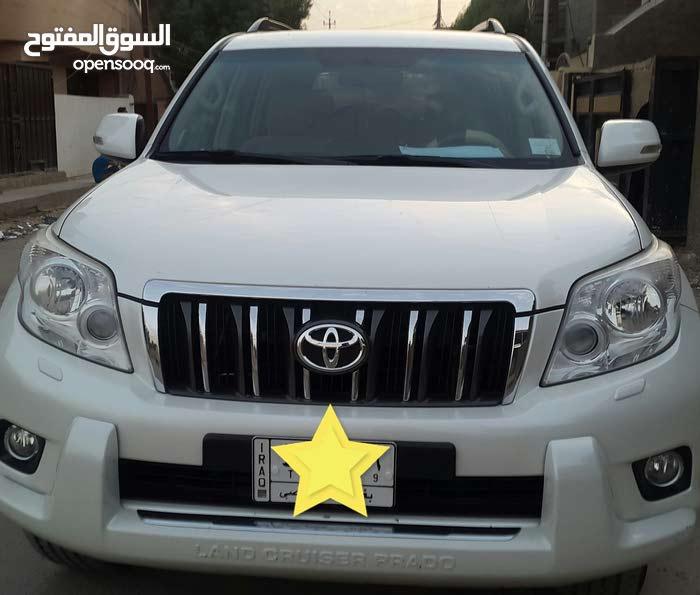 Toyota Prado in Baghdad