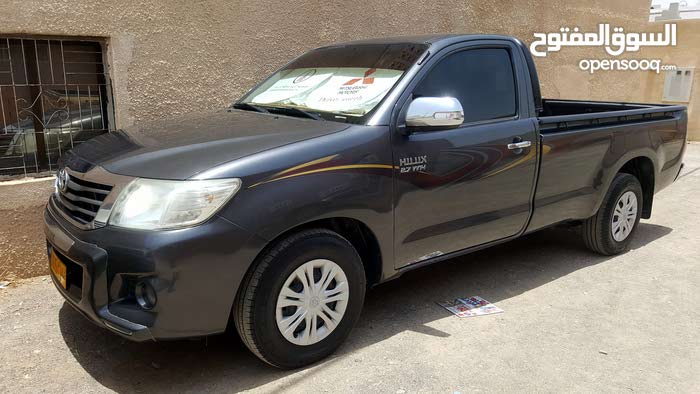 Grey Toyota Hilux 2015 for sale