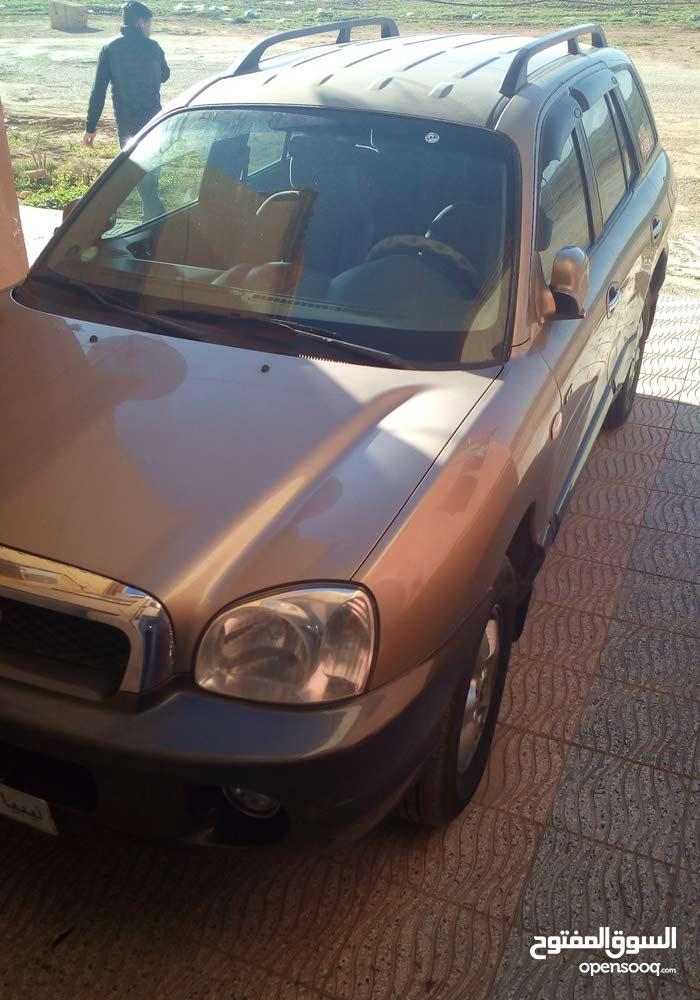 Diesel Fuel/Power   Hyundai Santa Fe 2004