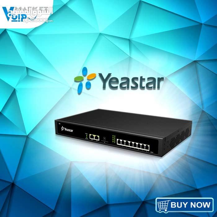 Yeastar S50 IP PBXيمكنك إجراء واستقبال المكالمات