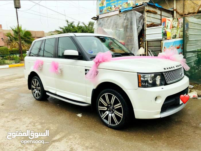 White Land Rover Range Rover Sport 2010 for sale
