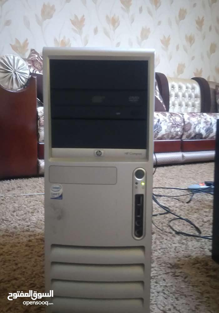 كمبيوتر مكتبي نوع  HP compaq dc7700 convertible minitower للبيع .