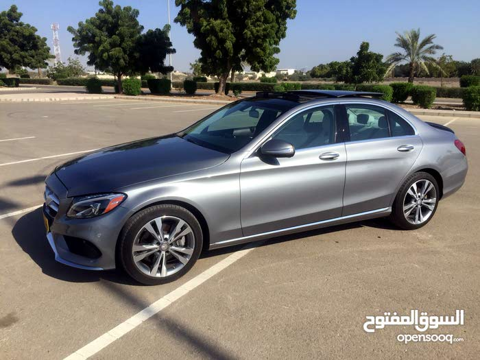 Mercedes Benz C 300 2015 For sale - Grey color