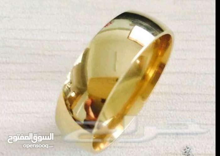 » مزاد على خاتم مطلي ذهب عيار 22