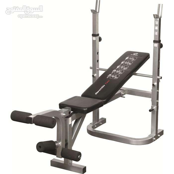 Go Sport Bench And 210 Kilos Weights بنش نوع و أوزان 210