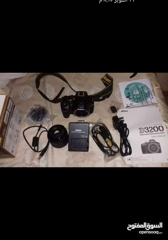 كاميرا نيكون d3200 بكافة ملحقاتها  Nikon D3200 price = 590 $ USD