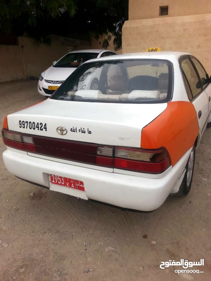 Available for sale! +200,000 km mileage Toyota Corolla 1995