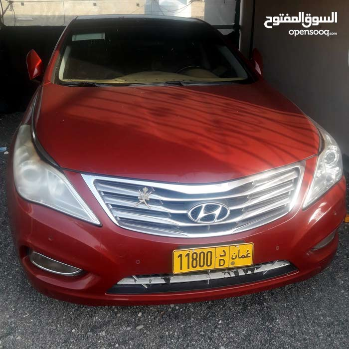 Red Hyundai Azera 2012 for sale