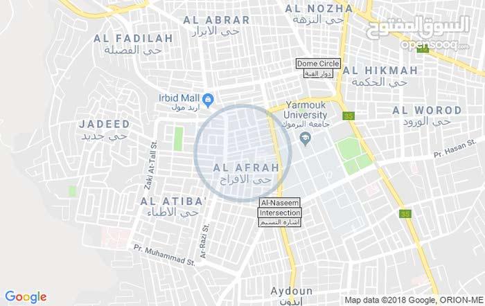 شقة 80م للبيع - شارع جامعه اليرموك غرب مطعم ابو محمود