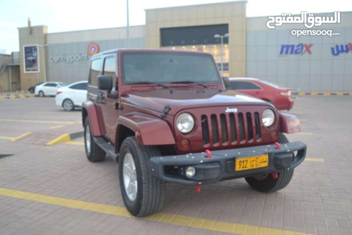Maroon Jeep Wrangler 2009 for sale