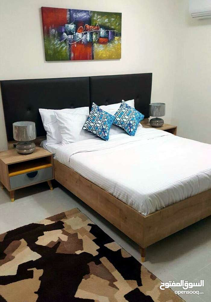 for rent in nejma 2 bedroom fully furnished