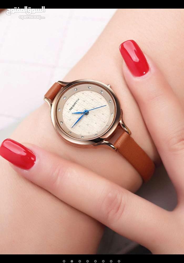 ساعة فاخرة بتصميم فريد ورائع