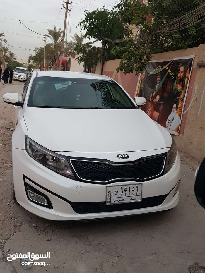 For sale 2016 White Optima