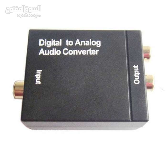 optical audio to stereo converter محول صوت اوبتيكال لاستريو