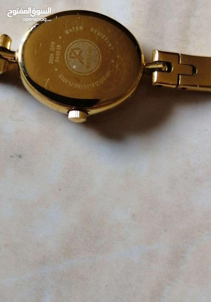 f4ab55001 ساعة ماركه ويستر مطليه ذهب - (106052988) | السوق المفتوح