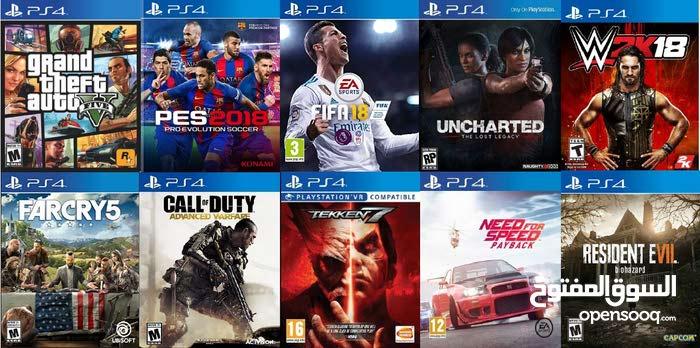 تعديل PlayStation 4 + تنزيل ألعاب / فل هارديسك