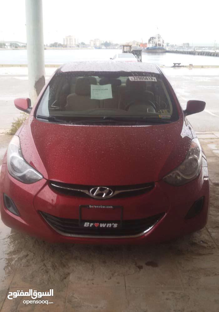 Hyundai Elantra 2011 For sale - Red color