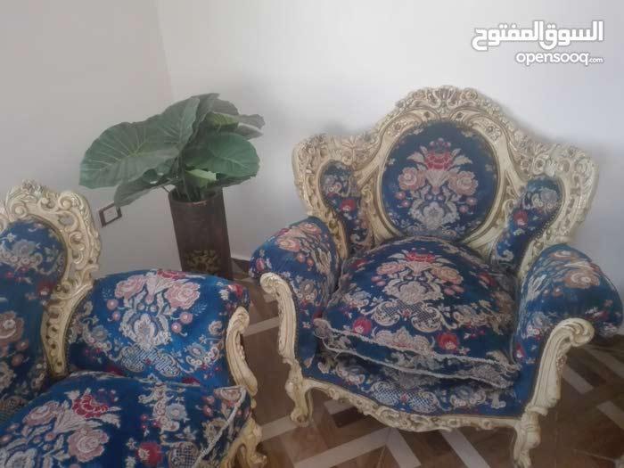 كنب دمياطي مصري مزخرف قديم