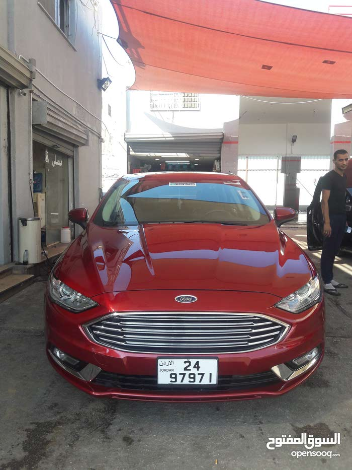 For sale Ford Fusion car in Irbid