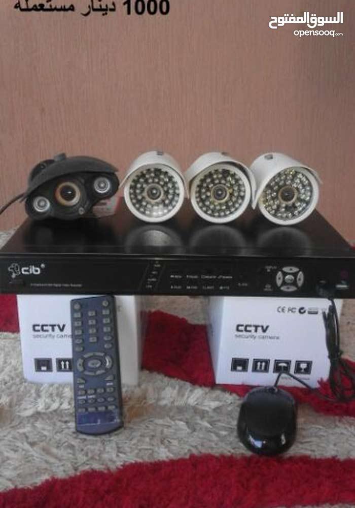 كاميرات مراقبة  في حالة جيده